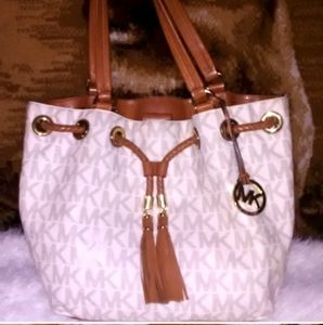 White MK Purse shoulder bag